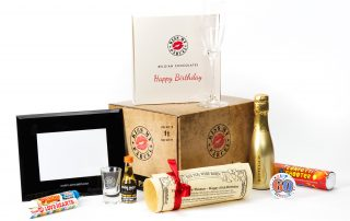 Celebrate a Milestone Birthday with our hand-crafted Care Package